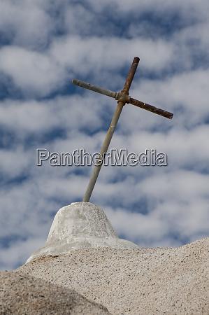 mexico baja california shrine to the