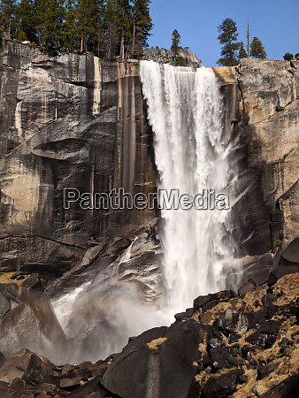 usa california yosemite national park vernal