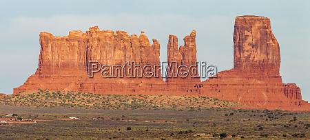 usa arizona monument valley bear and