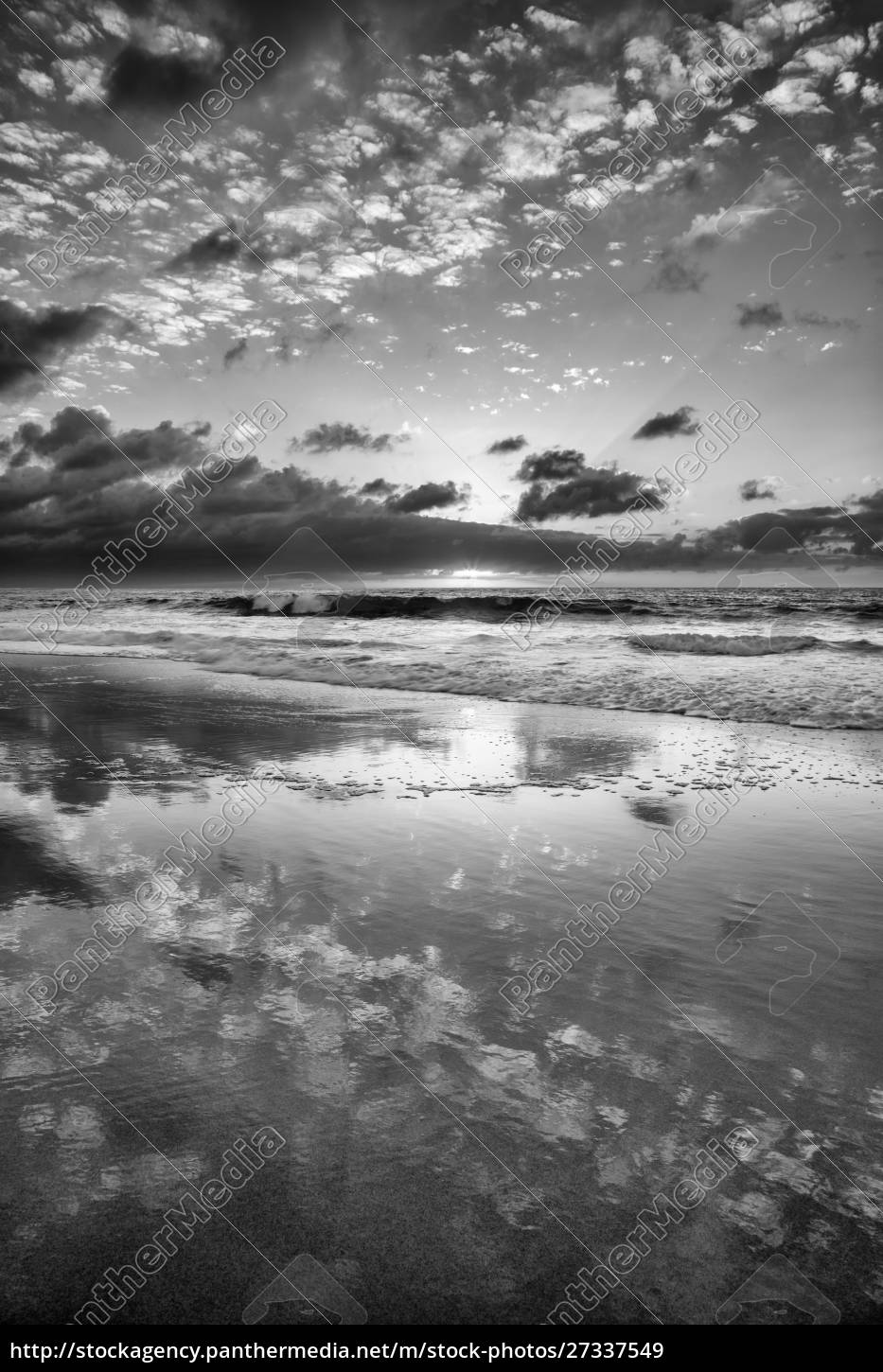 usa, , california, , la, jolla., sunset, reflections - 27337549
