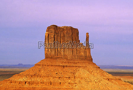 usa arizona monument valley eroded butte