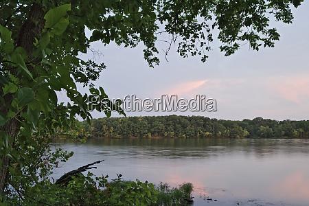 usa arkansas beaver lake lake landscape