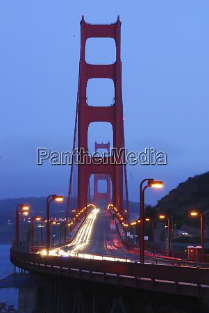 golden gate bridge at night san