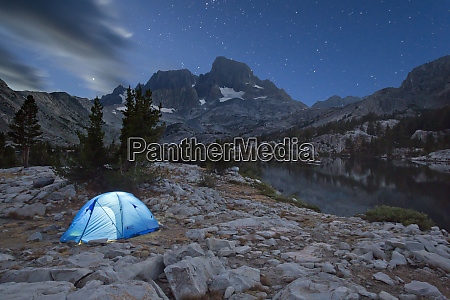 usa california inyo national forest tent