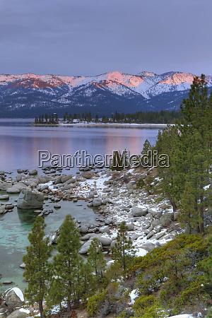usa california lake tahoe lake overview