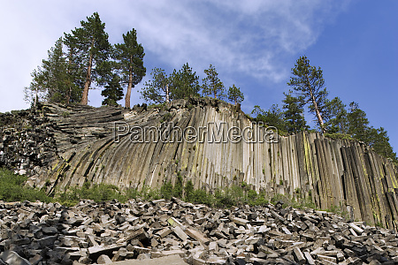 usa california devils postpile national monument