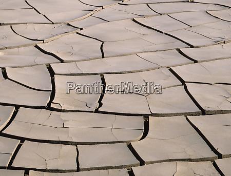 usa california mojave desert dried mud