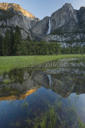 usa california yosemite national park early
