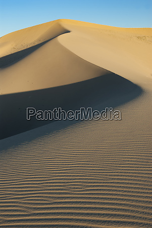 usa california sand dunes in mojave