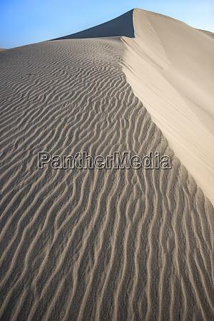 usa california windblown sand dune