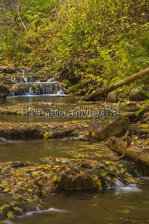 usa colorado grizzly creek waterfall cascades