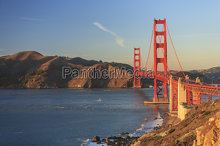 view of golden gate bridge san