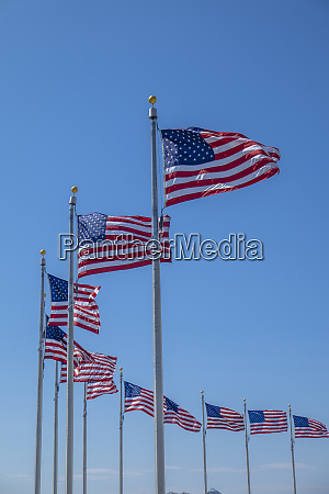 flags by washington monument washington dc