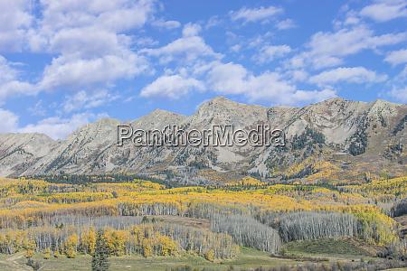 usa colorado near gunnison rocky mountain