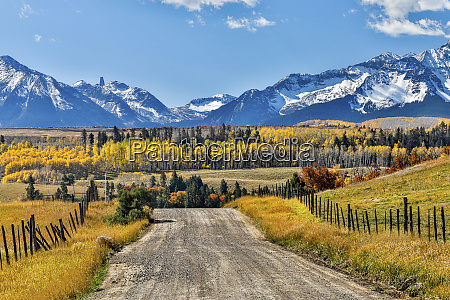 usa colorado ridgway fence and dirt