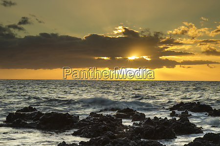 usa hawaii maui kihei scenic of