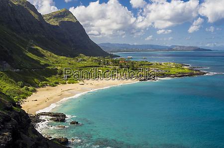 usa hawaii east oahu makapuu beach