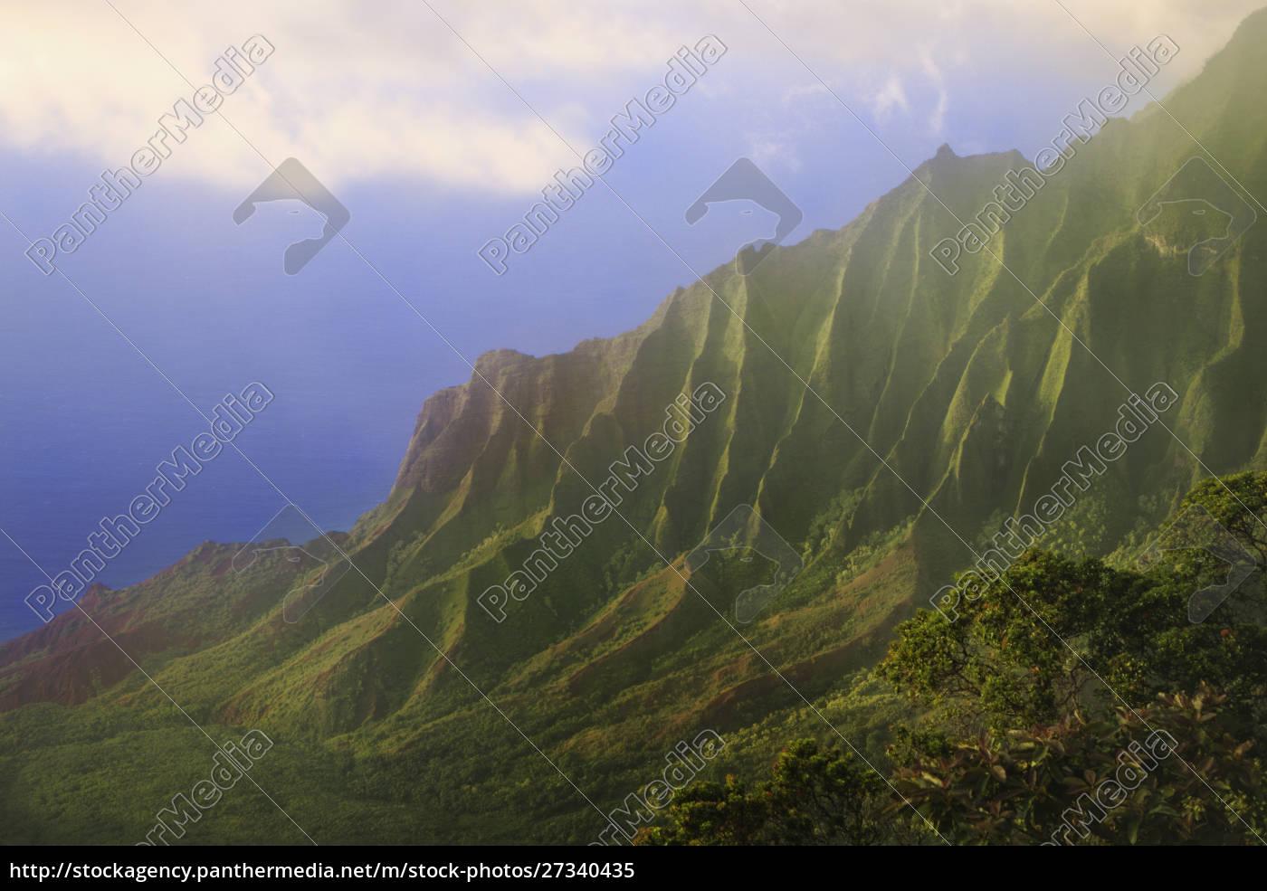 usa, , hawaii, , kauai., na, pali, coast - 27340435