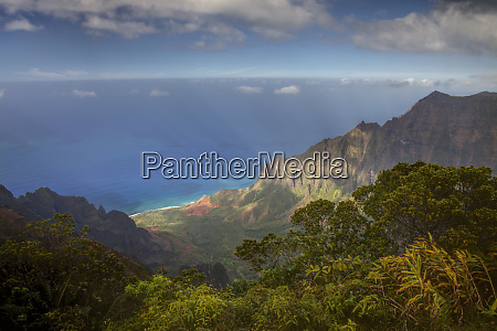 usa hawaii maui canyon overlook