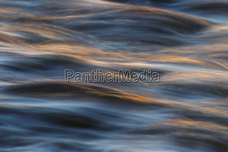 water flowing in hurricane river at