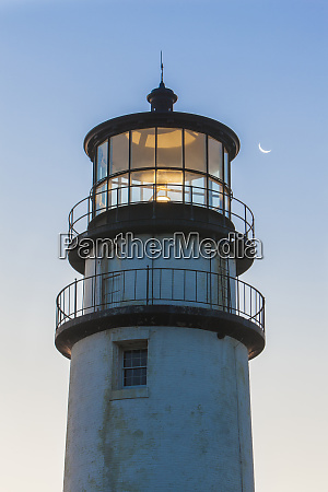 a crescent moon and the cape