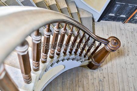 usa montana bannack state park staircase