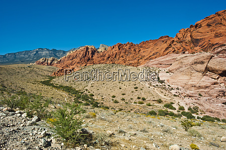 usa nevada las vegas red rock