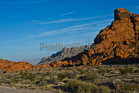 usa nevada overton valley of fire