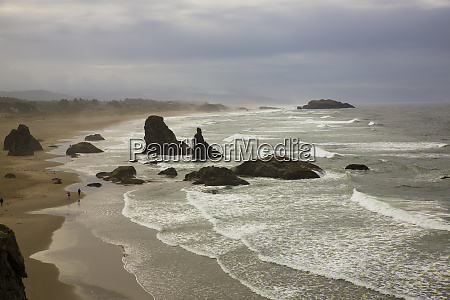 bandon oregon face rock state scenic