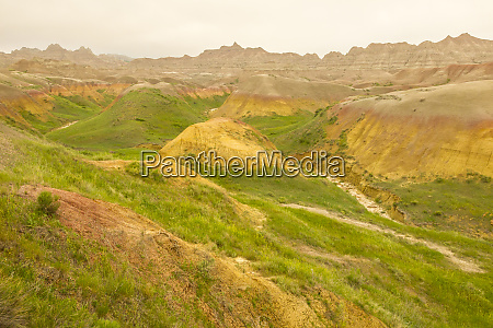 usa south dakota badlands national park