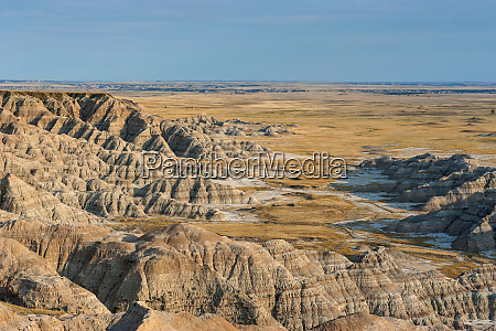 badlands national park south dakota usa