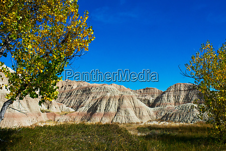 usa south dakota wall badlands national