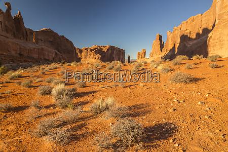 usa utah arches national park park