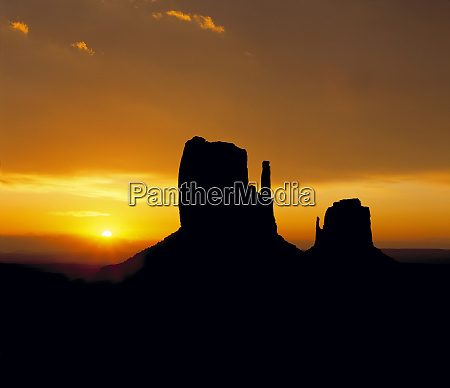 usa, , utah, , monument, valley., the, north - 27345672