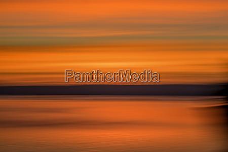 usa washington state seabeck sunrise over