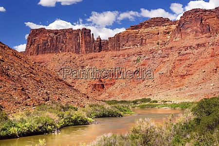 colorado river red rock canyon outside