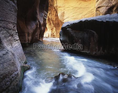 usa utah view of virgin river