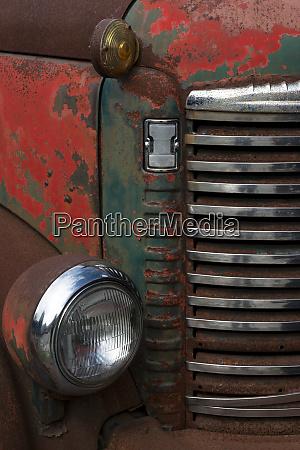 usa vermont rusting abandoned vintage international