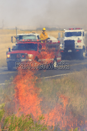 walla walla washington state usa fire