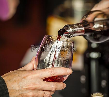 usa washington state seattle man pouring