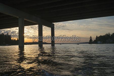 usa washington state bellevue highway bridge