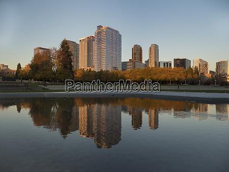 usa washington state bellevue downtown park