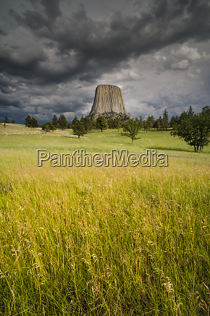usa wyoming devils tower national monument