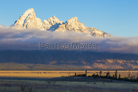 usa wyoming jackson hole grand teton
