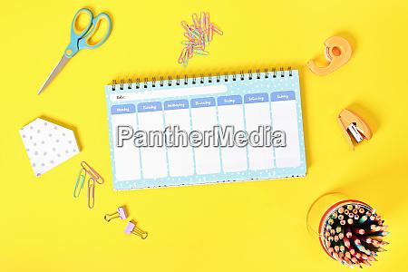 my weekly schedule planner