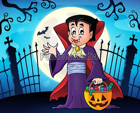 halloween vampire topic image 1