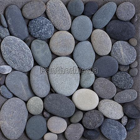 grey pebble zen style background