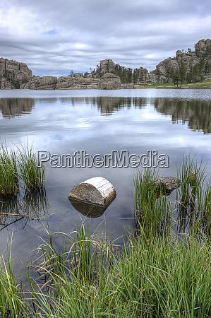 calm and peaceful sylvan lake