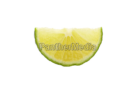 close up cut slice of green