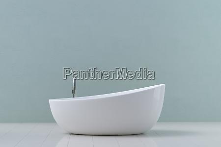 modern bathtub 3d rendering